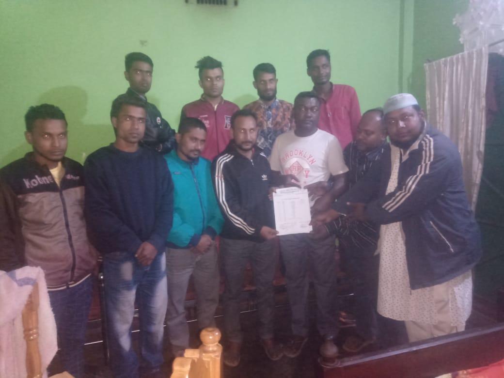 খাদিমপাড়া ইউনিয়নে শ্রমিক দলের আহবায়ক কমিটি গঠন