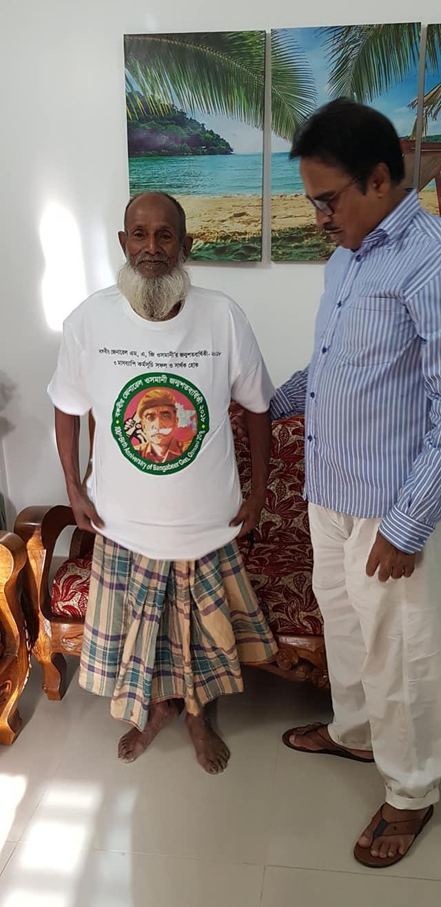 মুক্তিযোদ্ধা আব্দুর রশিদ এখন মসজিদের ঝাড়ুদার : স্বাধীনতার ৫০ বছরেও পাননি মুক্তিযোদ্ধা সম্মানী ভাতা